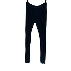 Stockman 1862 Mens Black Long Johns Sleeping Pants Size XL
